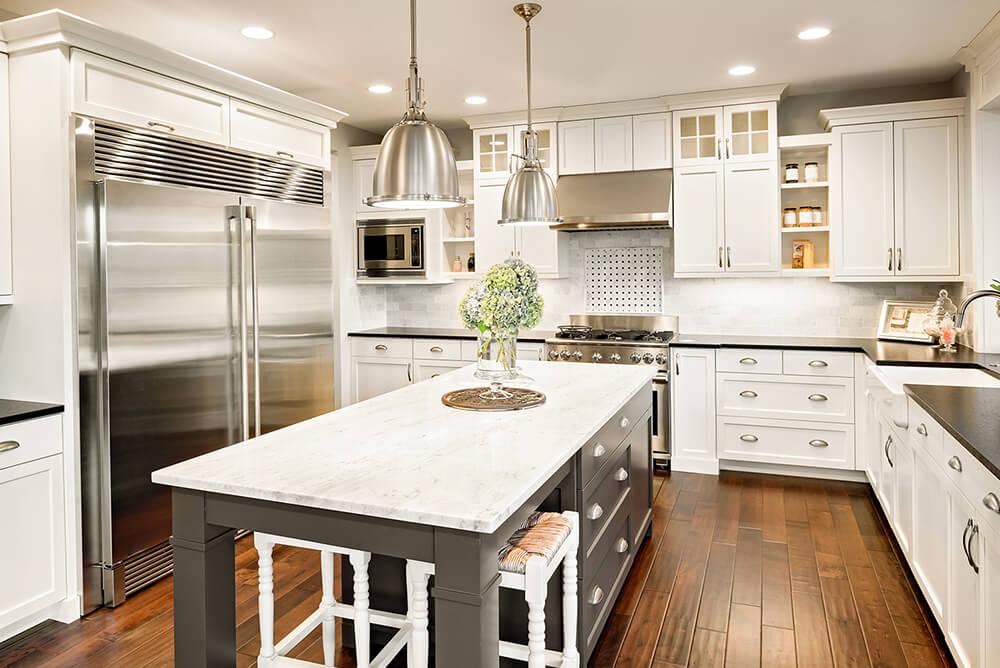 DSP Kitchens Kitchen Cabin Installation Image