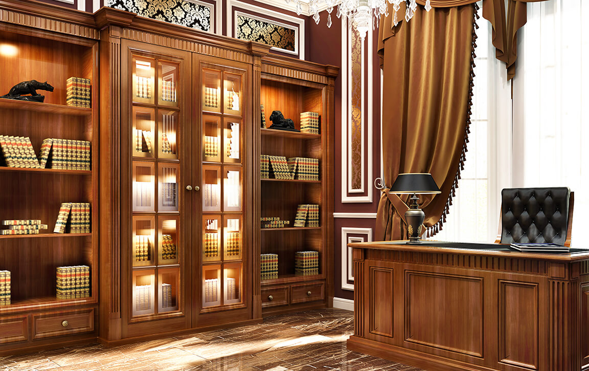 Office Cabinets - DSP Kitchens - Surrey